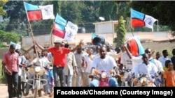 Mmoja ya maandamano makubwa ya Chadema yaliyofanyika Juni 20, 2017.