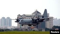 Un avión militar chileno C130 como el de esta foto de Reuters fue el desaparecido durante un vuelo a la Antártida.