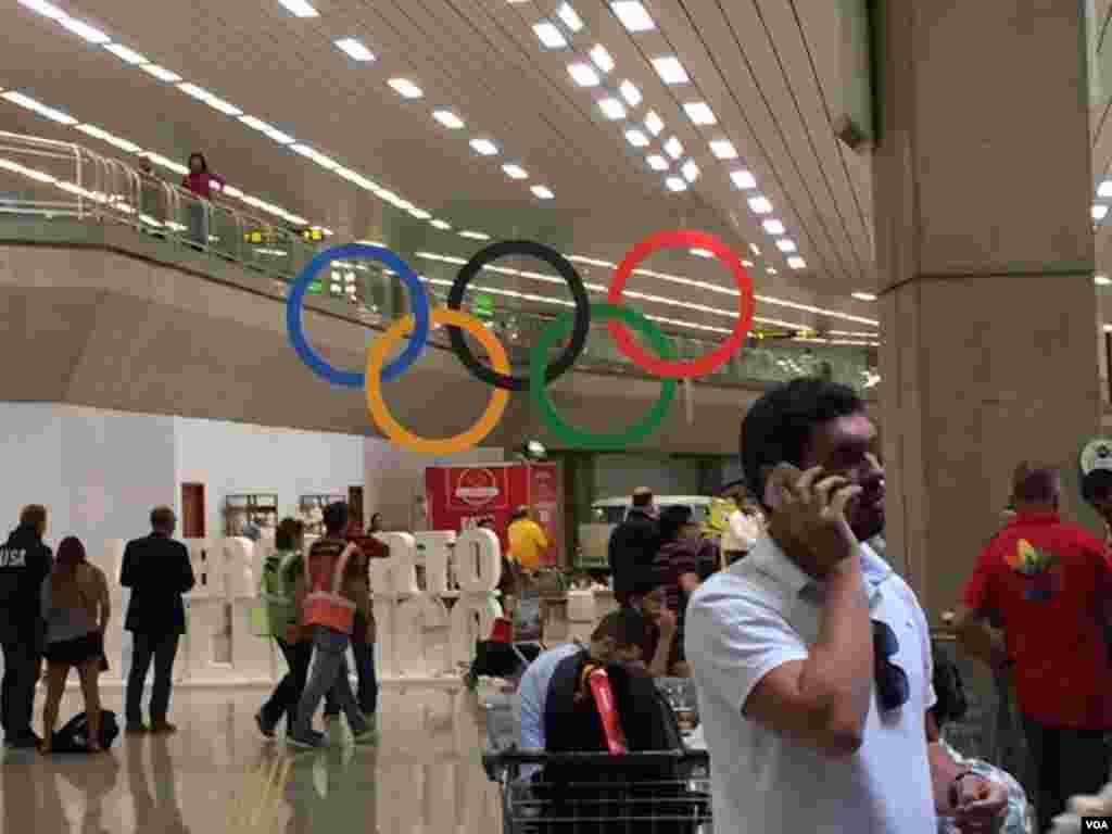 ریو قبل از افتتاحیه