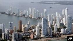El barco atracó el sábado en el puerto colombiano de Cartagena.