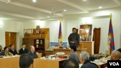 Tibetan Parliament in Exile Begins Sixth Session