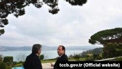 Francois Hollande ve Abdullah Gül