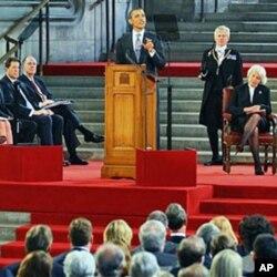 Le président Obama au Parlement britannique
