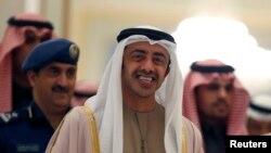 عبدالله بن زاید آل نهیان وزیر امور خارجه امارات متحده عربی