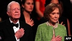 Cựu tổng thống Jimmy Carter và phu nhân Rosalynn Carter