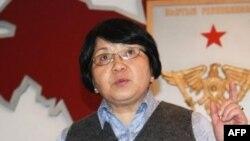 吉尔吉斯斯坦临时领导人奥通巴耶娃