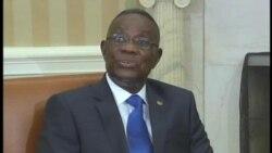 2012-03-09 粵語新聞: 加納總統訪問白宮
