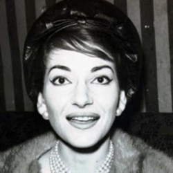 Maria Callas sang in her first major opera at the age of 17