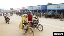 La vie à Butembo, dans le Nord-Kivu, RDC, 25 août 2016.