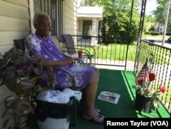 Marjorie Huffman grew up down the street from Muhammad Ali in Louisville, Kentucky.