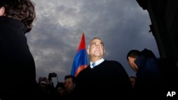 Раффи Ованнисян. Ереван. Армения. 20 февраля 2013 г.