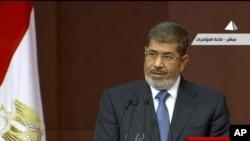 埃及总统穆尔西12月1日发表电视讲话