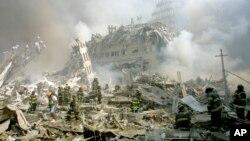 Нью-Йорк, 11 сентября, 2001 г.