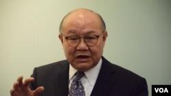 香港特首參選人胡國興 (美國之音湯惠芸)