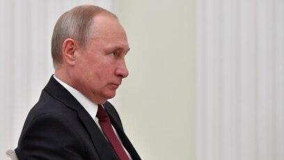 El presidente ruso Vladimir Putin, durante una reunión en el Kremlin en Moscú, el 20 de febrero de 2019.