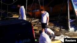 ہوائی اڈے پر خودکش بم دھماکوں میں درجنوں افراد ہلاک و زخمی ہوئے