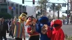 Atraksi di Jalanan Pusat Judi Las Vegas
