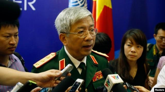 Thứ trưởng Bộ Quốc phòng Việt Nam Nguyễn Chí Vịnh.