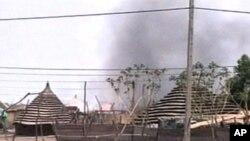 北苏丹军队占领阿卜耶伊地区之后