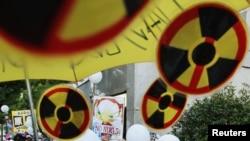 日本福島核災之後國內反核聲浪高漲(資料圖片)
