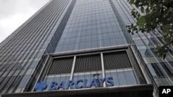 Bangiga Barclays ee dalka Britain.
