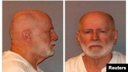 "Former mob boss and fugitive James ""Whitey"" Bulger, who was arrested in Santa Monica, California on June 22, 2011."