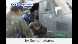 Four South Korean sailors are freed by Somali pirates after almost 600 days in captivity.