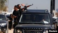 Caravana do primeiro-ministro em Gaza