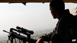 سهربازێـکی فهڕهنسـایی له ئهفغانسـتان، (ئهرشیفی وێنه)