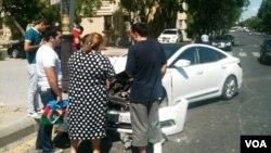 Avtomobil qəzası 2