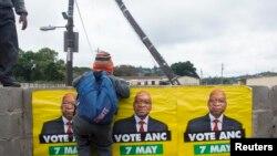 ANC irashyira imbere perezida Jacob Zuma mu matora