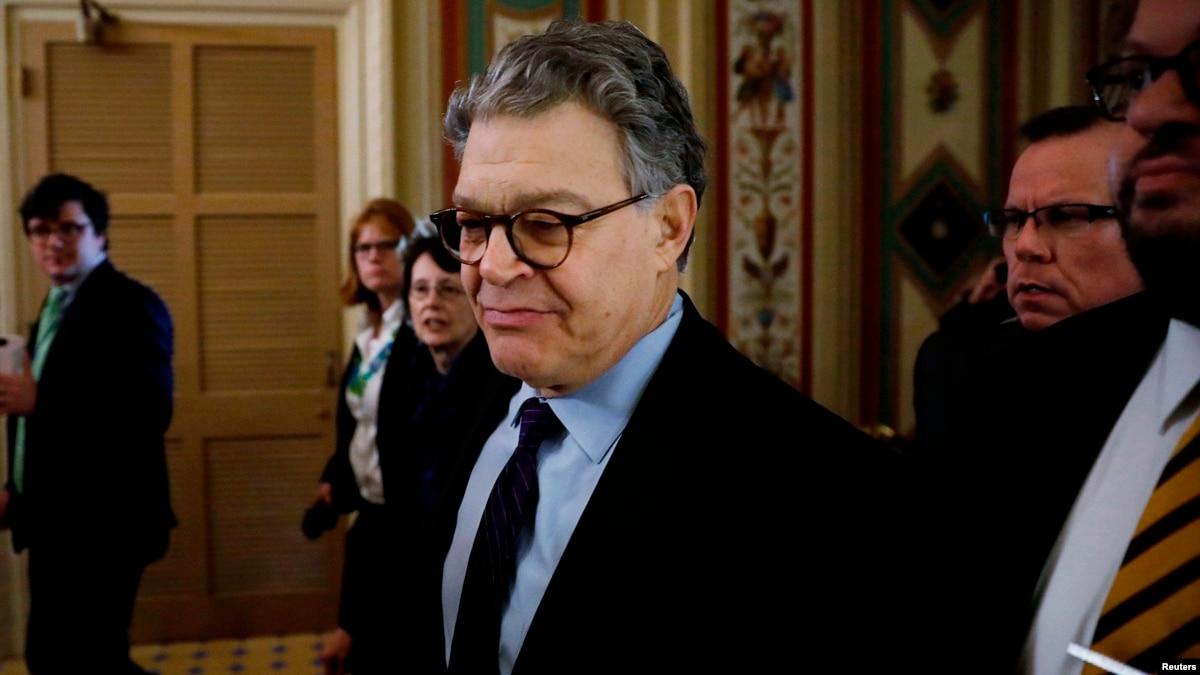 Franken renuncia al Senado en medio de acusaciones de acoso sexual