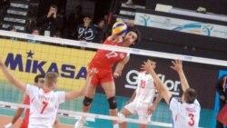 پیروزی نوجوانان والیبالیست ایرانی و اولین مدال دانشجویان