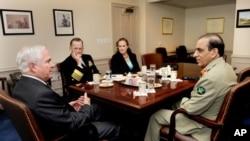 جنرل کیانی کی امریکی دفاعی حکام سے ملاقات