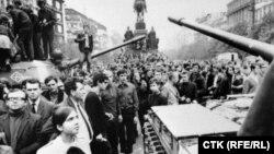 1968 рік: радянське вторгнення в Чехословаччину