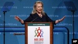 Хиллари Клинтон. Вашингтон. 23 июля 2012 г.