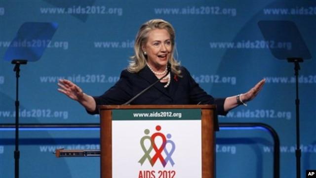 Hilari Klinton na Medjunarodnoj konferenciji za borbu protiv SIDE