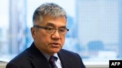 擔任過美國駐華大使的美國前州長駱家輝2016年資料照。