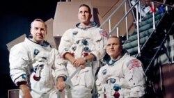 Aya ilk uçuş -Apollo 8