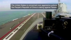 U.S. Concerned Over China's Aggressive Actions Toward Taiwan