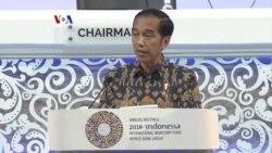 Pidato Jokowi di Pertemuan Tahunan IMF-Bank Dunia