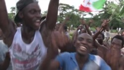 On The Scene: Celebrations in Burundi After Coup Announcement