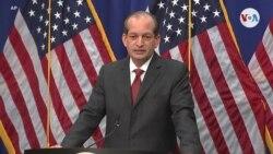 Demócratas piden la renuncia del secretario de Trabajo de EE.UU.