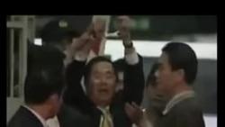 台湾前总统陈水扁意图以毛巾自杀