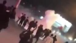 فیلم ارسالی شما: تداوم اعتراضات و درگیریها در روز پنجم