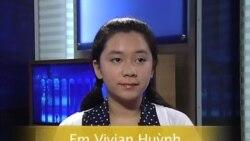 Ca sĩ 13 tuổi gốc Việt hát nhạc của nhạc sĩ Việt Khang, Anh Bình