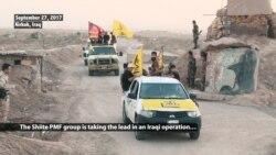 Iran-backed Militia Taking Leading Role in Operation for Iraq's Hawija