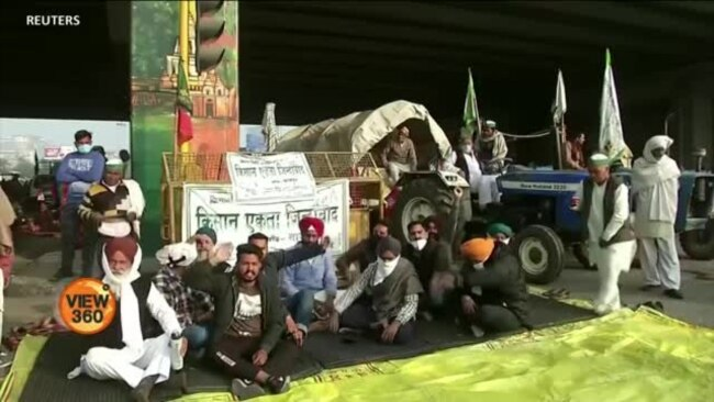 بھارتی کسانوں کا زرعی اصلاحات کےخلاف احتجاج
