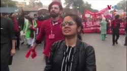 طلبہ یونین کی بحالی کے لیے مختلف شہروں میں مظاہرے