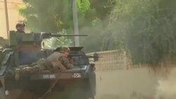 法國軍人在馬里北部與伊斯蘭激進份子交戰